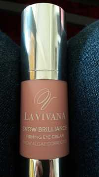 La Vivana - Snow brilliance - Firming eye cream