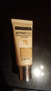 Maybelline - Affinitone - Hydrating tone-on-tone foundation 17 rose beige