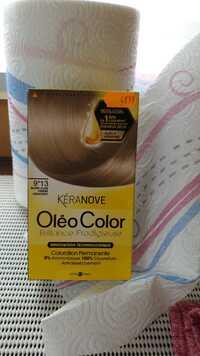 KÉRANOVE - Oleo Color - Coloration permanente 9*13 blond clair cendre