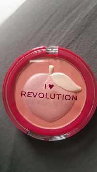 I HEART REVOLUTION - Peach - Soft shimmer blusher