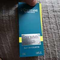 L'OCCITANE - L'homme - Cologne Cédrat - Eau de parfum
