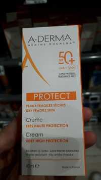 A-Derma - Protect - Crème très haute protection SPF 50+