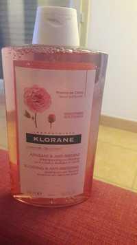 KLORANE - Apaisant & anti-irritant - Shampooing à la pivoine
