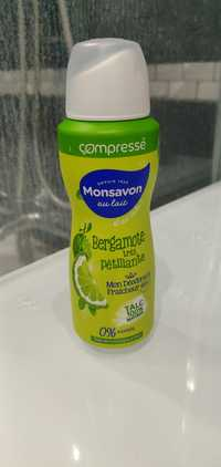 Monsavon - Bergamote très pétillante - Mon déodorant fraîcheur 48h
