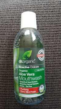 Dr. Organic - Organic aloe vera - Mouthwash