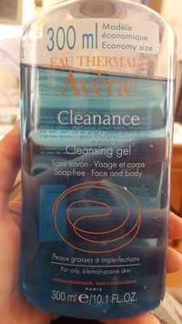 AVÈNE - Eau thermale cleanance - Gel nettoyant visage et corps