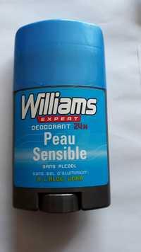 WILLIAMS - Expert - Déodorant 24h peau sensible à l'aloe vera
