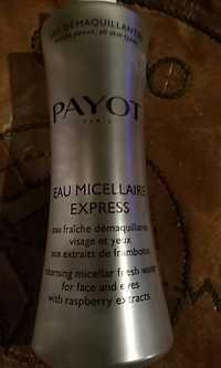 PAYOT - Eau micellaire - Express - Eau fraîche démaquillante visage et yeux