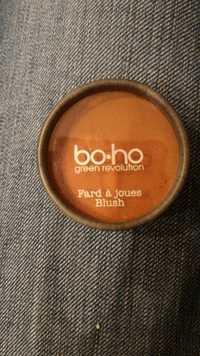 BO.HO GREEN - Fard à joues 01 bois de rose