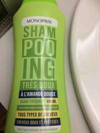 Monoprix - Shampooing très doux à l'amande douce