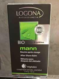 Logona - Bio Ginko & caféine - Baume après-rasage mann
