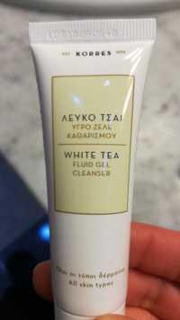 KORRES - White tea - Fluid gel cleanser