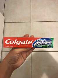 COLGATE - Triple action - Fluoride toothpaste