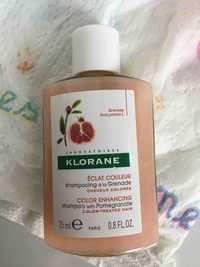 KLORANE - Éclat couleur - Shampooing à la grenade