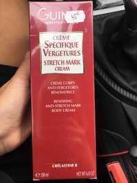 Guinot - Crème spécifique vergetures