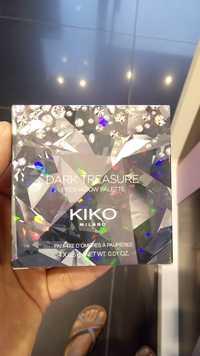 KIKO - Dark treasure - Palette d'ombres à paupières