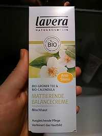 Lavera - Anti-shine - Mattierende balancecreme