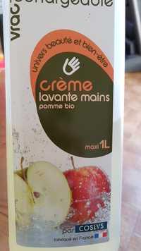 COSLYS - Crème lavante mains - Pomme bio