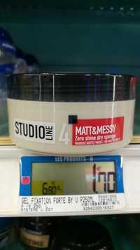 L'ORÉAL - Studio line 4 - Matt & Messy zero shine dry sponge