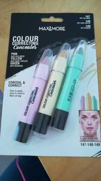 MAX & MORE - Colour correcting concealer