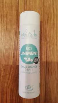 Neo bulle - Bio liminent - Doux change 3 en 1
