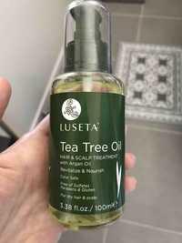 LUSETA - Tea tree oil - Hair & scalp treatment
