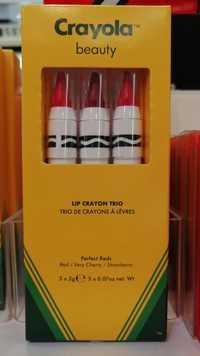 Crayola Beauty - Trio de crayons à lèvres
