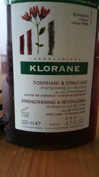 KLORANE - Fortifiant & Stimulant - Shampooing à la Quinine et aux Vitamines B
