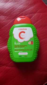 COSMIA - Kids 3 en 1 - Douche shampoing & Bain moussant