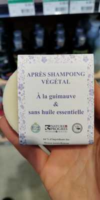 SLOW COSMÉTIQUE - Après-shampoing végétal à la guimauve & sans huile essentielle