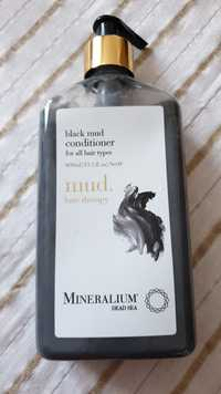 MINERALIUM DEAD SEA - Mud hair therapy - Black mud conditioner