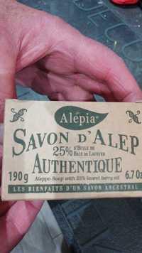 Alepia - Le savon d'Alep authentique