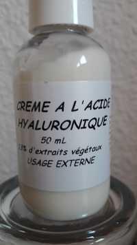 Pharmacie Florit Lafayette - Crème à l'acide hyaluronique