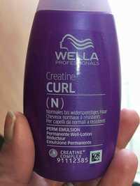 WELLA - Creatine+ Curl - Réducteur emulsione permanente