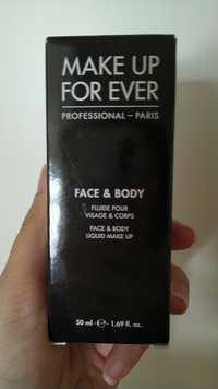 Make up for ever - Fluide pour visage & corps