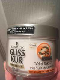 SCHWARZKOPF - Gliss kur - Hair repair intensive mask