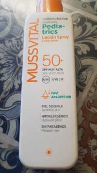 MUSSVITAL - Fotoprotector pediatrics - Lotion spray spf 50+