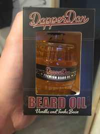 DAPPER DAN - Vanilla and tonka bean - Beard oil