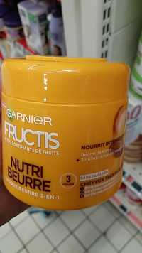 GARNIER - Fructis Nutri Beurre - Masque 3-en-1