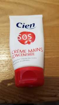 CIEN - SOS - Crème mains concentrée