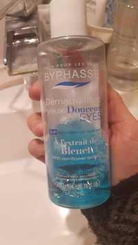 BYPHASSE - Démaquillant yeux douceur à l'extrait de bleuet