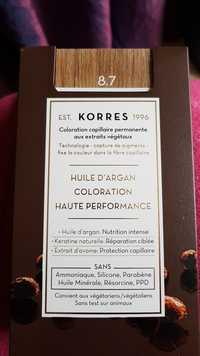 KORRES - Huile d'argan coloration haute performance