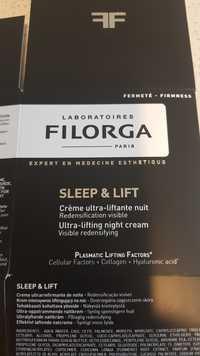 Laboratoires Filorga - Sleep & Lift - Crème ultra-liftante nuit