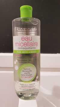 EVOLUDERM - Eau micellaire démaquillante