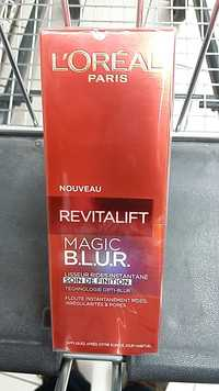 L'Oréal - Revitalift Magic B.L.U.R.
