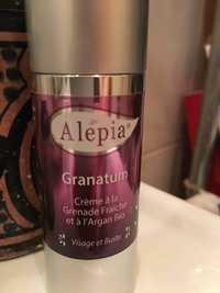 Alepia - Granatum - Crème à la grenade fraîche et à l'argan bio