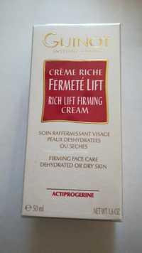 Guinot - Fermeté lift - Crème riche