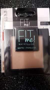 Maybelline - Fit me ! - Poudre ton sur ton matifiante -104 ivoire rosé