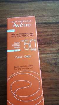 Avène - Eau thermale - Crème très haute protection SPF 50+