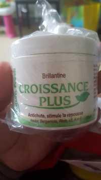 CROISSANCE PLUS - Brillantine - Antichute, stimule la repousse